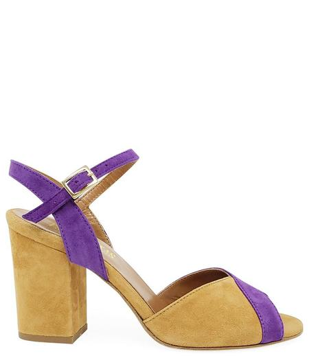 Paris Texas Purple/Tan Sandal