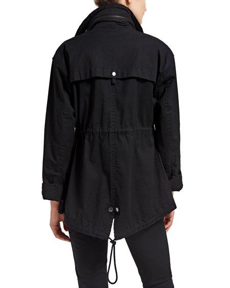 ATM Garment Wash Field Jacket - Black