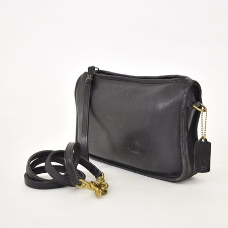VINTAGE Found COACH Convertible City Bag - Black