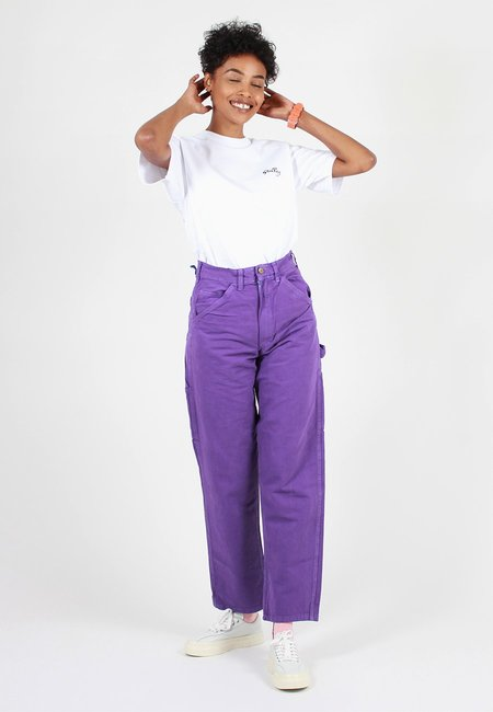Stan Ray Painter Pant Overdye - Decade Purple