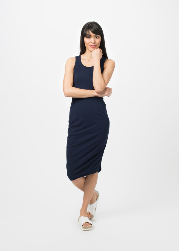Rundholz BL Tucked Fitted Dress