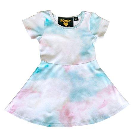 KIDS Romey Loves Lulu Skater Dress - Cotton Candy