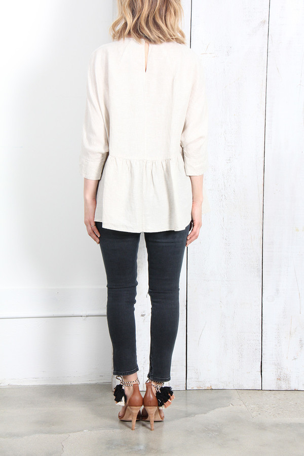 Rachel Comey REUNION TOP IN NATURAL
