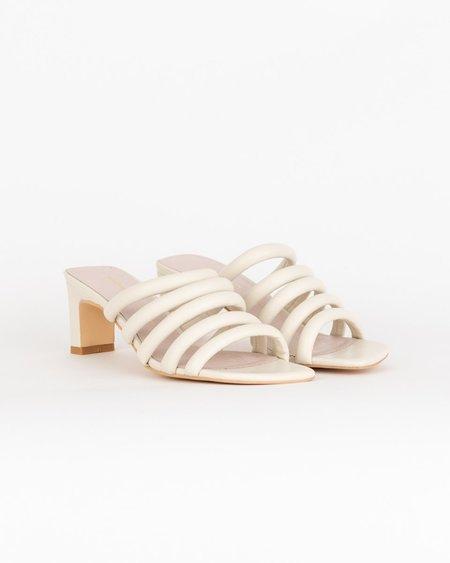 """INTENTIONALLY __________."" Willow III Sandals - cream"