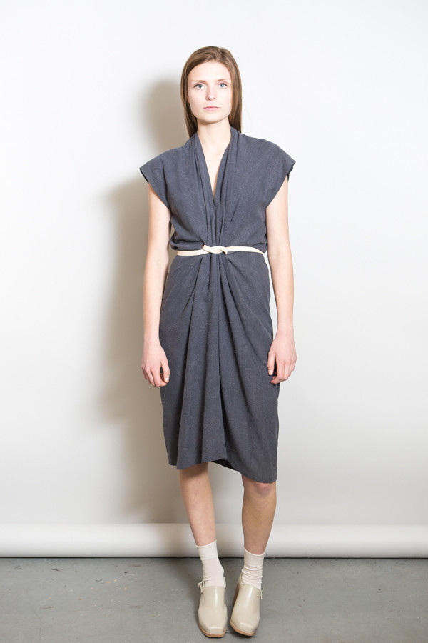 Miranda Bennett Tempest Dress / Coal