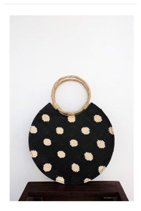 Banago Bello polka dot bag - black/cream