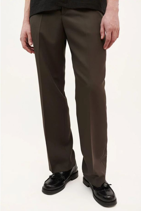 Our Legacy Chino 24 - Mudd Washed Wool
