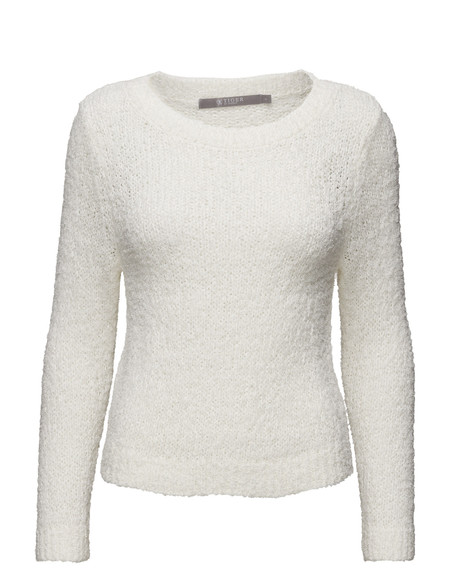 Tiger of Sweden Gleis Cotton Knit - Pearl