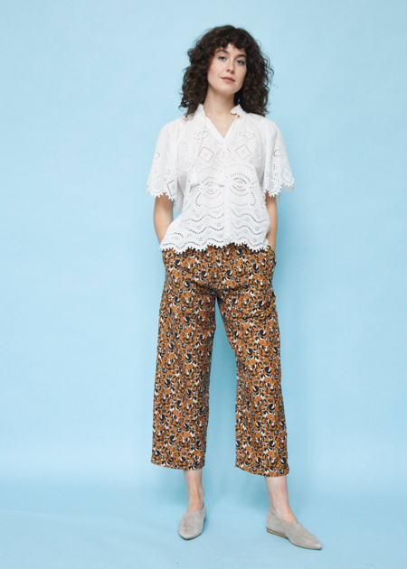 Chistine Alcalay Pleated Trouser - Animal