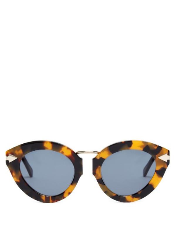 Karen Walker 'Lunar Flowerpatch' sunglasses