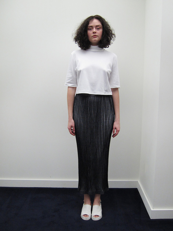Suzanne Rae Ribbed Skirt