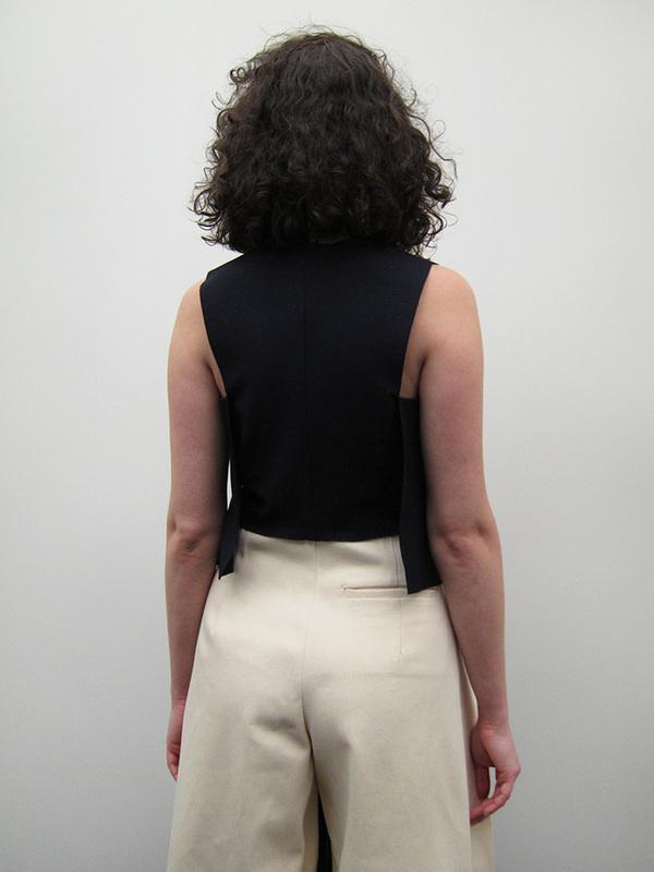 Nancy Stella Soto Side Flaps Ponte Shirt