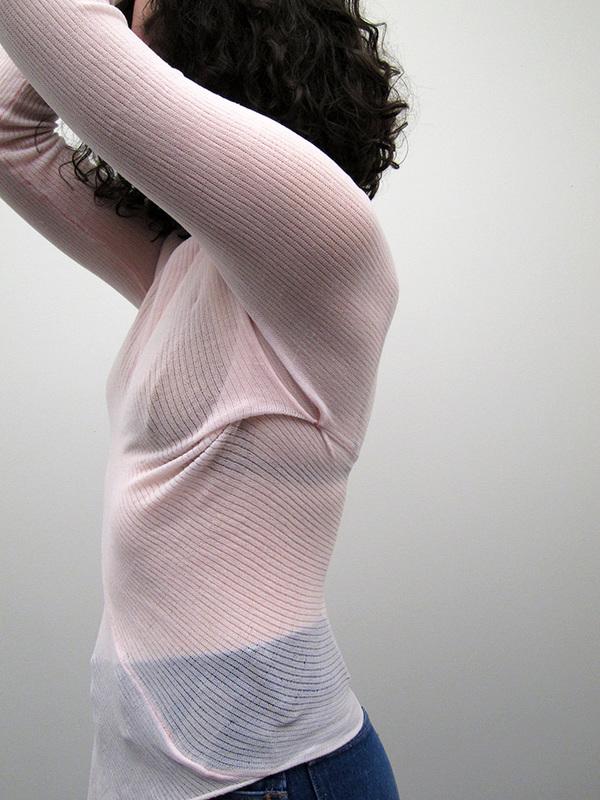 Eckhaus Latta Wolly Mummy Longsleeve, Pink
