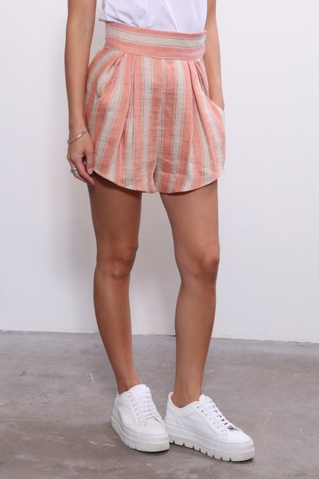 Rachel Comey Oblige Short - Blush High Line Strip