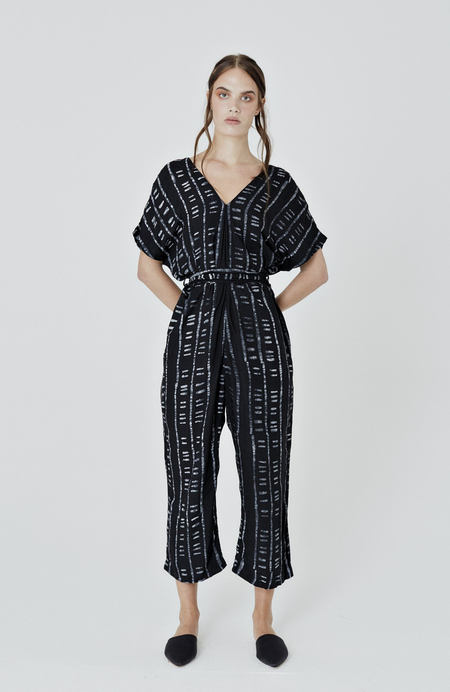 Osei-Duro Easy Jumpsuit - Binary Black
