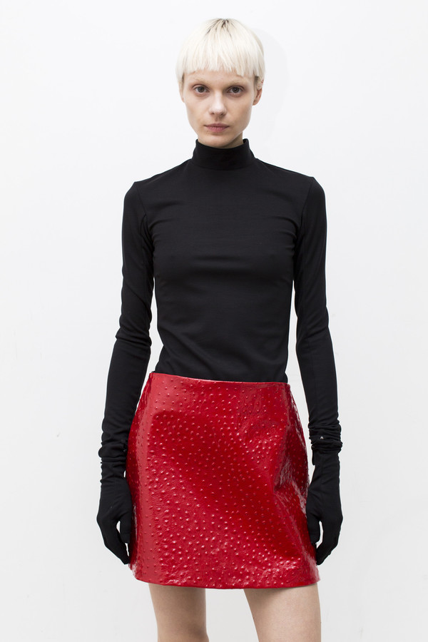 LRS Patent Leather Mini Skirt