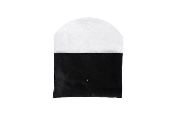 Primecut BLACK + WHITE ENVELOPE CLUTCH