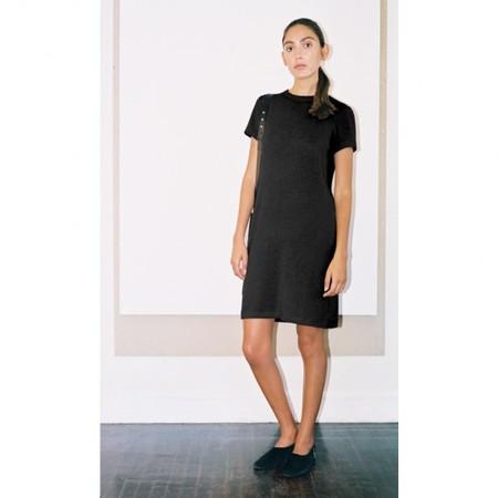 Pari Desai Annika Mini T Dress Black