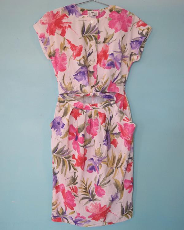 Floral Midriff Dress