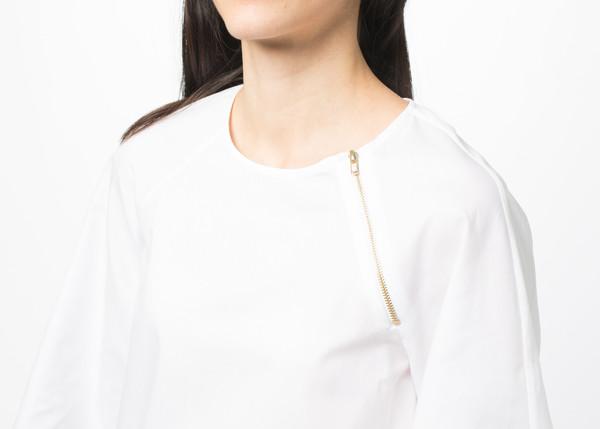 Harvey Faircloth A-Line Zipper Top