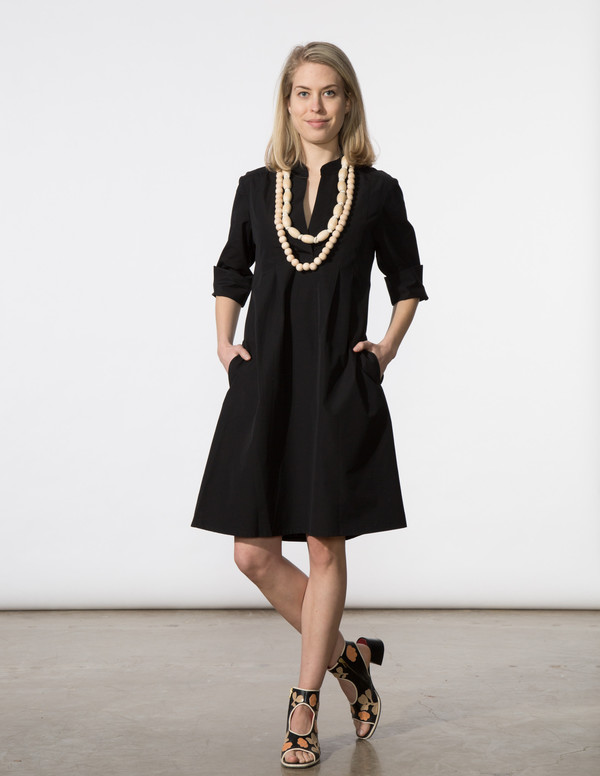 SBJ Austin Ellen Dress in Black