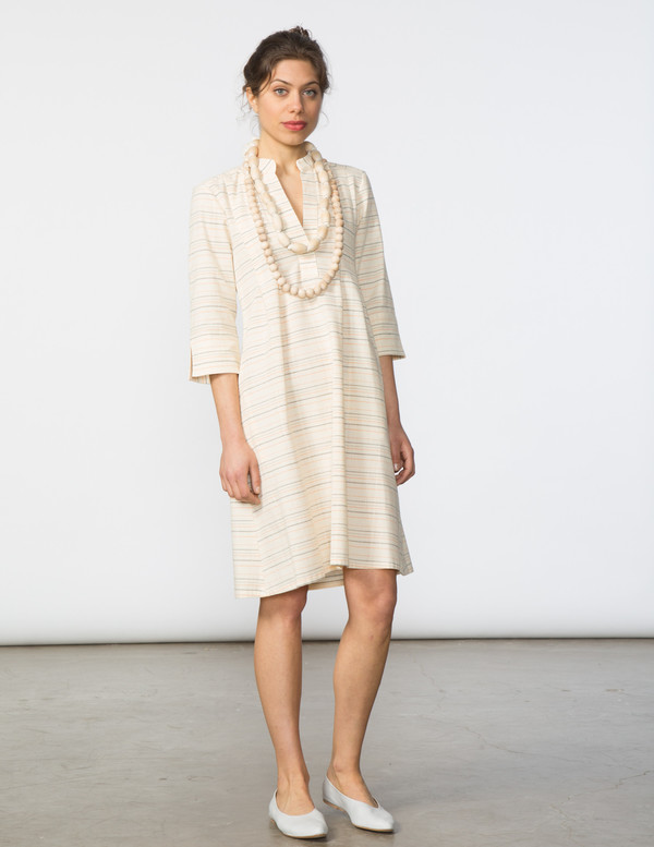SBJ Austin Ellen Dress in Desert Stripe
