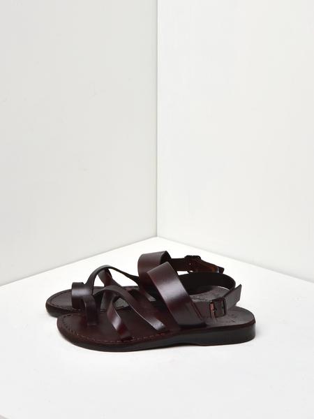 Jerusalem Sandals AMOS SANDAL - BROWN