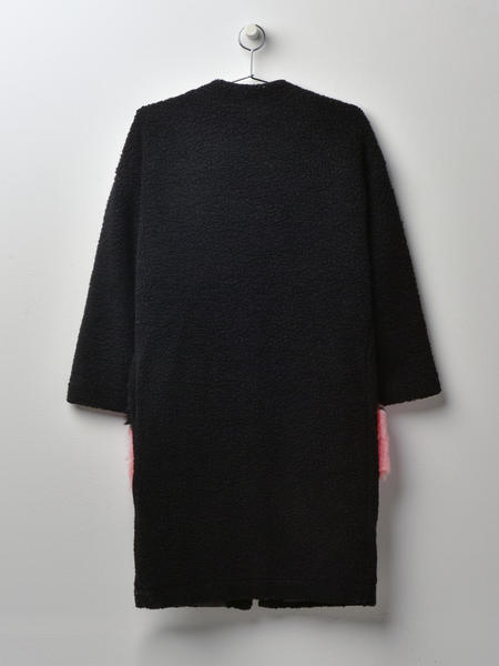 Anne Vest Brisbane Coat - Black
