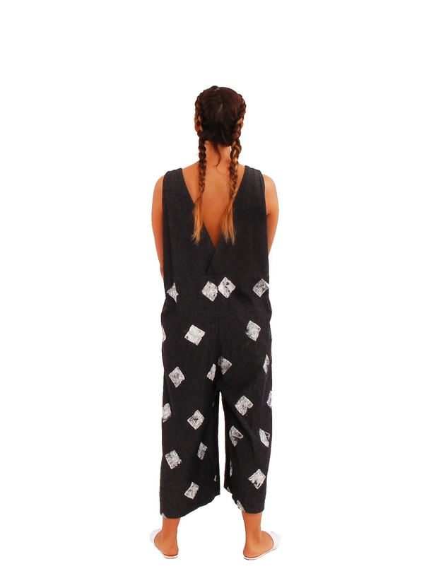 323 Hand Stamped Jumpsuit