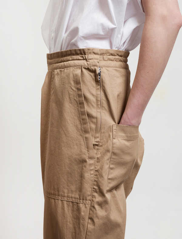 Ys by Yohji Yamamoto Patch Pocket Trousers Khaki