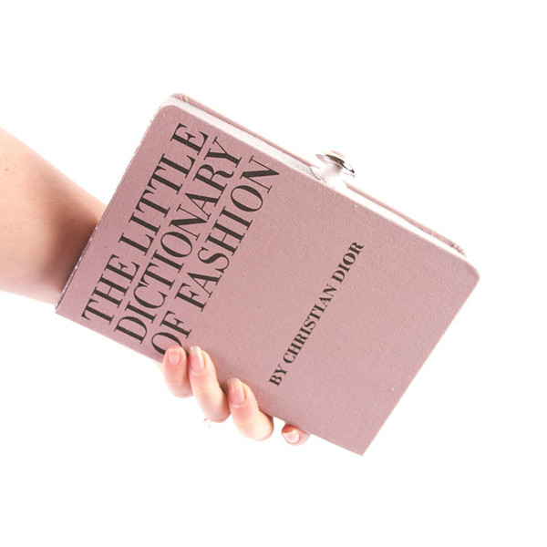 Chick Lit Designs Dictionary of Fashion Book Clutch