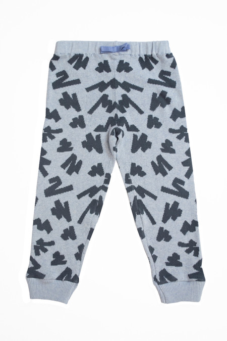 Kids' Micaela Greg Grey Tape Sweatpant