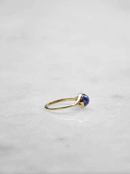 IGWT Dylan Ring - Gold/Blue Sapphire