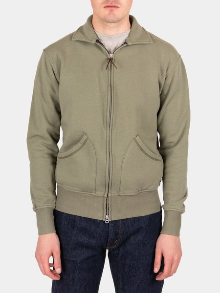 National Athletic Goods Full Zip Campus Jacket - Army Fade