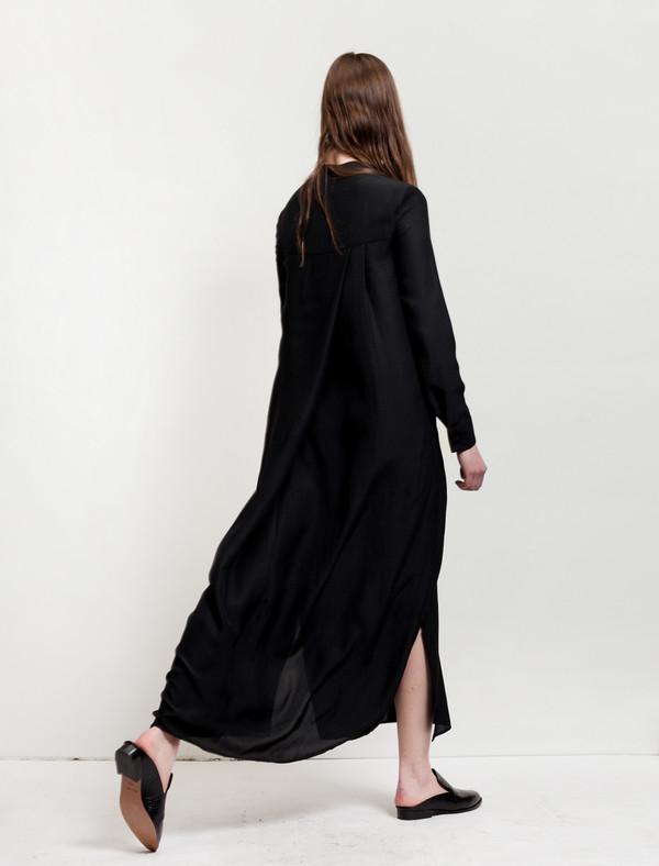 Catherine Quin Neutra Dress Black Jacquard