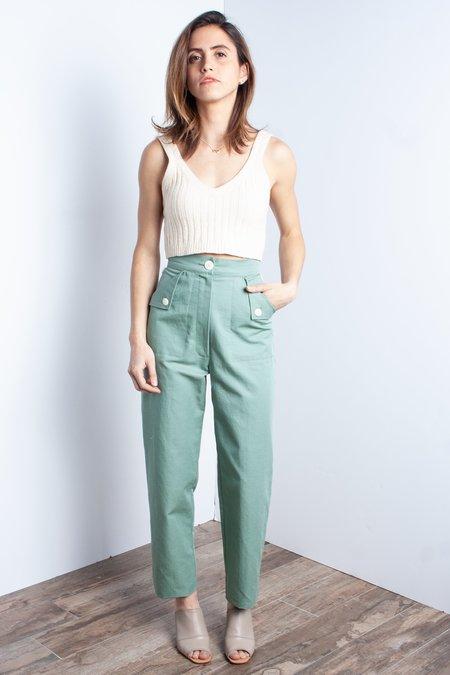 Ilana Kohn Huxie Pant (Petite) - Jade