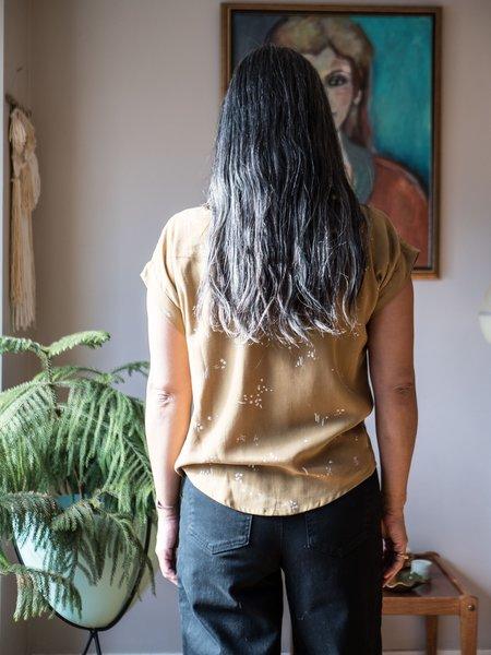 Eve Gravel Sunflower Shirt - Dusk