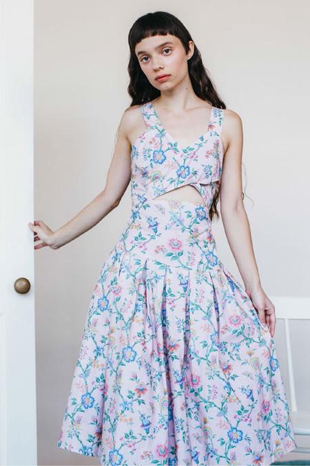 Samantha Pleet Curtain Dress