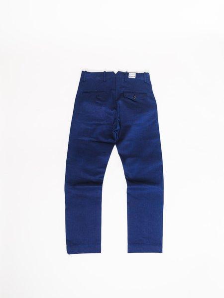 BLUE BLANKET P22 CHINO - INDIGO