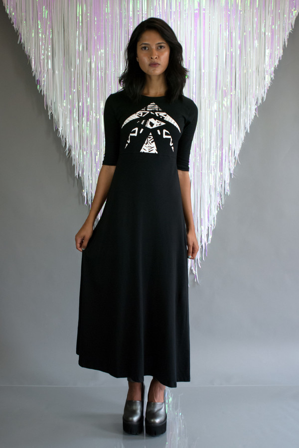 Mary Meyer Clothing Mix Maxi Dress
