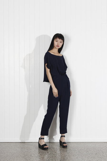 Rachel Comey Paloma Jumpsuit - Navy
