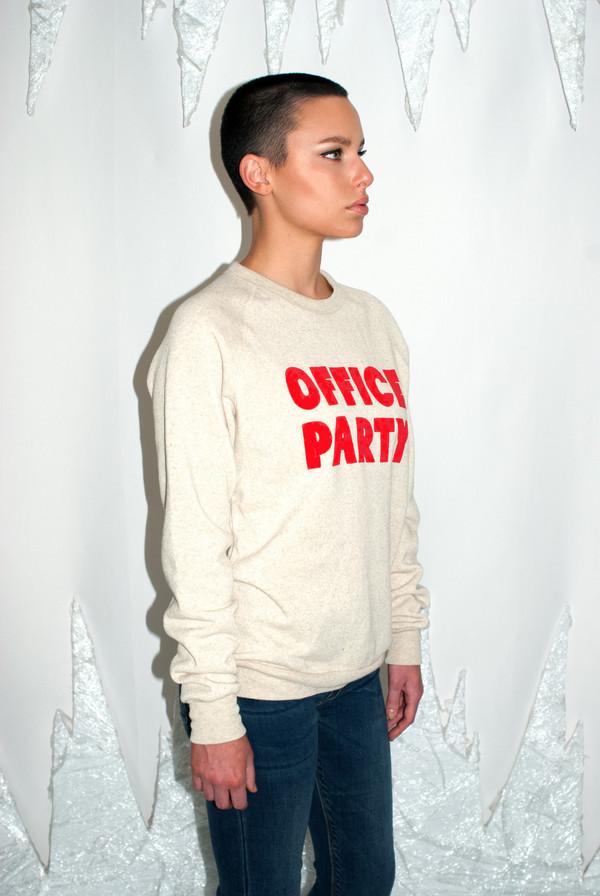 RACHEL ANTONOFF Office Party Sweatshirt - RACHEL ANTONOFF