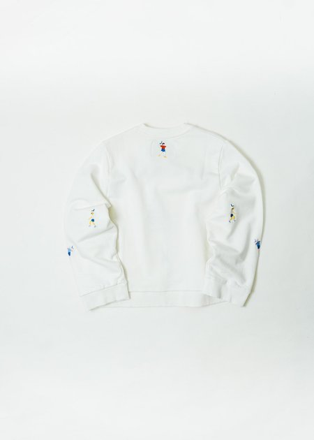 HENRIK VIBSKOV BOUNCE BACK SWEATSHIRT - CREAM
