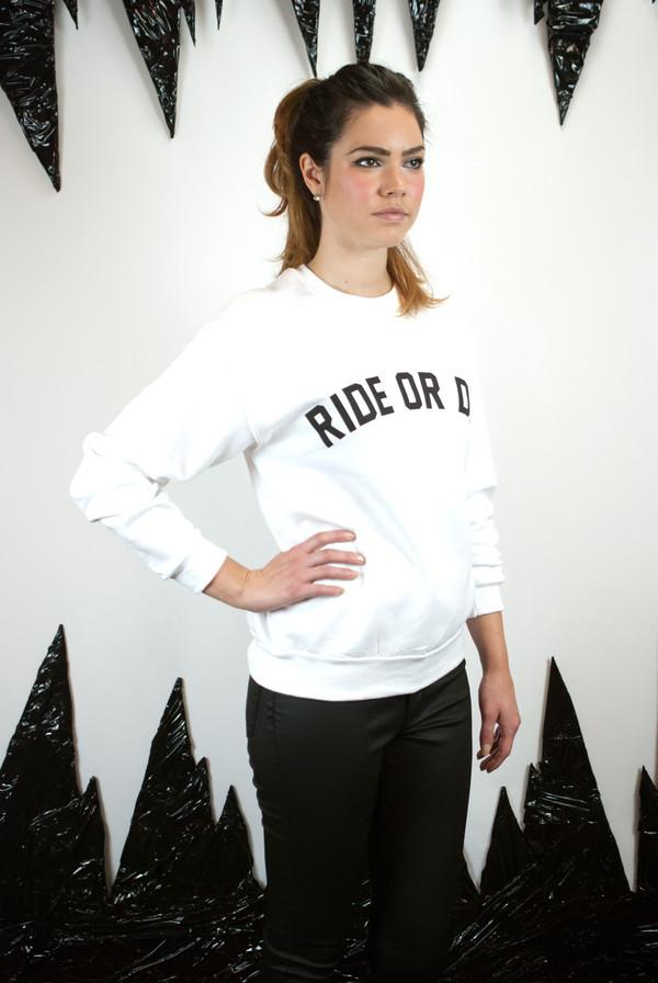 Private Party Ride or Die Sweatshirt
