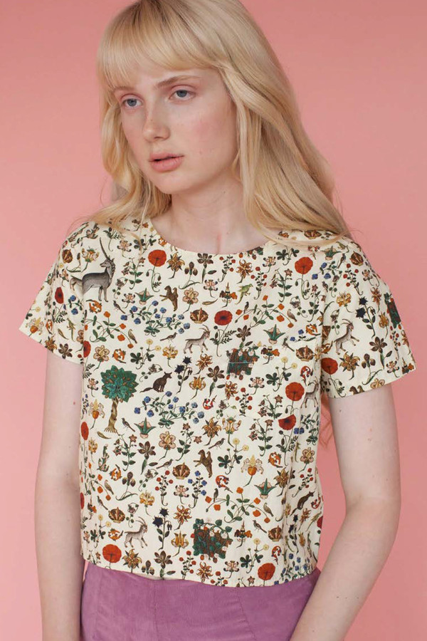 Samantha Pleet Tea Shirt