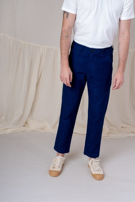 House of St. Clair ATLAS TROUSER - indigo