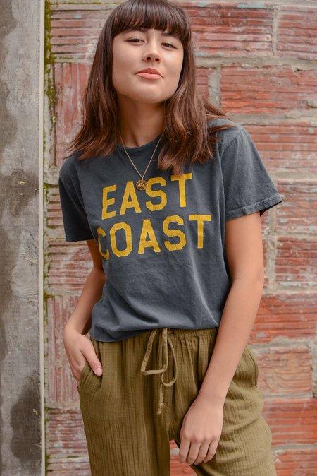 Retro Brand Black Label East Coast Cut Off Tee - Black