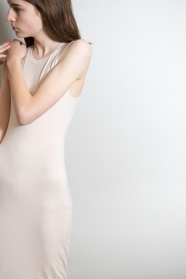 BLQ Basiq Sleeveless Jersey Dress / Nude