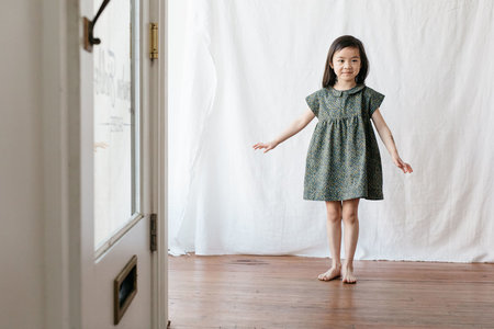 KIDS Devon's Drawer Camellia dress