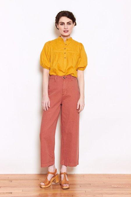 Launderette Sierra Cropped Pant - Adobe